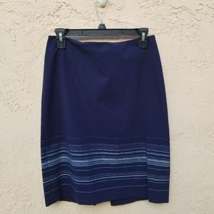 The Limited Pencil Skirt Blue.